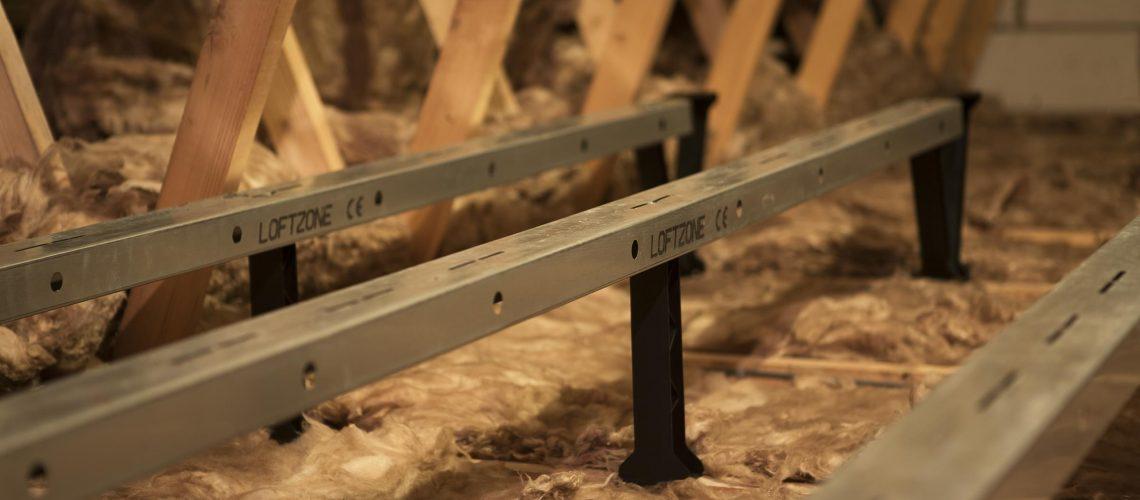 damp attic: fix with loftzone storefloor
